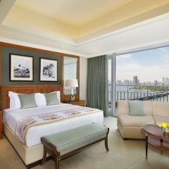 Отель The Nile Ritz-Carlton, Cairo комната для гостей фото 6