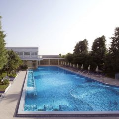 Отель Metropole Италия, Абано-Терме - отзывы, цены и фото номеров - забронировать отель Metropole онлайн бассейн фото 4