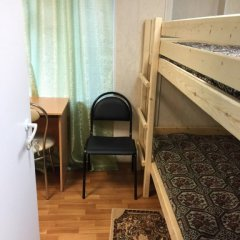 Мини-Отель Гермес Кровать в общем номере с двухъярусной кроватью фото 2