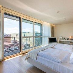 SIDE Design Hotel Hamburg 5* Люкс разные типы кроватей фото 3