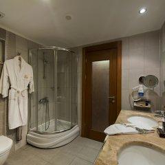 Kamelya Selin Hotel Турция, Сиде - 1 отзыв об отеле, цены и фото номеров - забронировать отель Kamelya Selin Hotel онлайн ванная фото 3