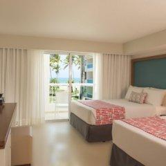 Отель Emotions by Hodelpa - Playa Dorada 4* Улучшенный номер с различными типами кроватей фото 2