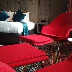 Отель XO Hotels Couture Amsterdam 4* Стандартный номер с различными типами кроватей фото 2