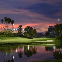 Отель Mingshen Jinjiang Golf Resort спортивное сооружение