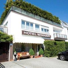 Отель Winhart Германия, Мюнхен - отзывы, цены и фото номеров - забронировать отель Winhart онлайн вид на фасад фото 2
