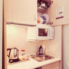 Ахаус-отель на Нахимовском проспекте Семейная студия с различными типами кроватей фото 8