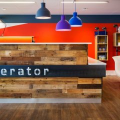 Generator Hostel Copenhagen Копенгаген интерьер отеля
