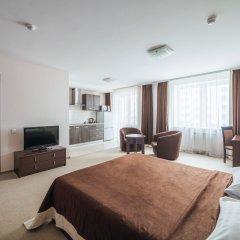 Гостиница Комплекс апартаментов Комфорт Улучшенная студия с различными типами кроватей фото 11