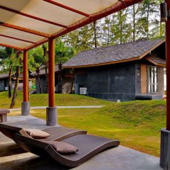 Отель Twin Lotus Resort and Spa - Adults Only Ланта фитнесс-зал фото 2
