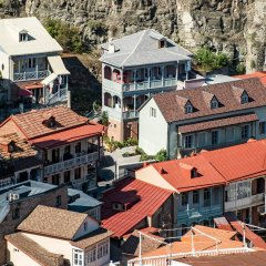 Отель Sheraton Grand Tbilisi Metechi Palace балкон фото 4
