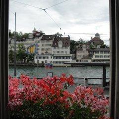 Отель KRONELIMMATQUAI Швейцария, Цюрих - 1 отзыв об отеле, цены и фото номеров - забронировать отель KRONELIMMATQUAI онлайн балкон