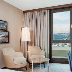Отель Sheraton Grand Tbilisi Metechi Palace комната для гостей фото 5