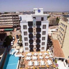 Sea Bird Hotel Турция, Алтинкум - отзывы, цены и фото номеров - забронировать отель Sea Bird Hotel онлайн балкон