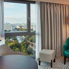 Отель Hilton Vienna Австрия, Вена - 13 отзывов об отеле, цены и фото номеров - забронировать отель Hilton Vienna онлайн комната для гостей фото 12