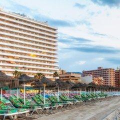 Отель Apartamentos Stella Maris Испания, Фуэнхирола - 1 отзыв об отеле, цены и фото номеров - забронировать отель Apartamentos Stella Maris онлайн пляж фото 2