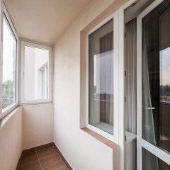 Гостиница Комплекс апартаментов Комфорт Улучшенная студия с различными типами кроватей фото 27