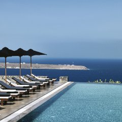 Отель Santo Maris Oia, Luxury Suites & Spa бассейн фото 5