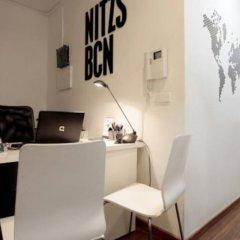 Отель Hostal Nitzs Bcn Испания, Барселона - 1 отзыв об отеле, цены и фото номеров - забронировать отель Hostal Nitzs Bcn онлайн интерьер отеля