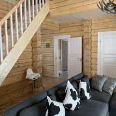 База Отдыха Forrest Lodge Karelia Улучшенный шале с разными типами кроватей фото 13