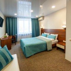 Гостиница Аврора 3* Стандартный номер с двумя спальнями с различными типами кроватей фото 2