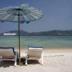 Отель Patong Bay Hut пляж фото 3