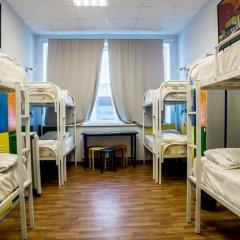 Хостел Аква Кровать в общем номере фото 6
