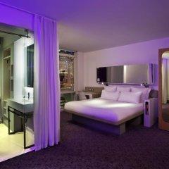 Отель Yotel New York at Times Square 3* Номер Делюкс с различными типами кроватей фото 4