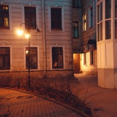 Marusya House Hostel Санкт-Петербург вид на фасад