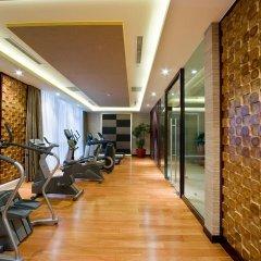 Отель DoubleTree by Hilton Shanghai Jing'an Китай, Шанхай - отзывы, цены и фото номеров - забронировать отель DoubleTree by Hilton Shanghai Jing'an онлайн фитнесс-зал