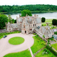 Отель The Lodge at Castle Leslie Estate Ирландия, Клонс - отзывы, цены и фото номеров - забронировать отель The Lodge at Castle Leslie Estate онлайн приотельная территория