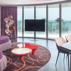 Отель W Dubai The Palm Люкс Cool сorner