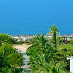 Club Aqua Plaza Турция, Окурджалар - отзывы, цены и фото номеров - забронировать отель Club Aqua Plaza онлайн пляж