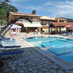 Kerkyra Beach Hotel бассейн