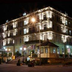 Отель Krivan Чехия, Карловы Вары - отзывы, цены и фото номеров - забронировать отель Krivan онлайн вид на фасад фото 2