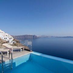 Отель Santorini Secret Suites & Spa 5* Люкс Infinity с различными типами кроватей фото 9