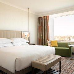 Отель Hilton Amsterdam Амстердам комната для гостей фото 5