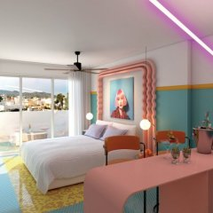 Paradiso Ibiza Art Hotel - Adults Only 4* Люкс с различными типами кроватей