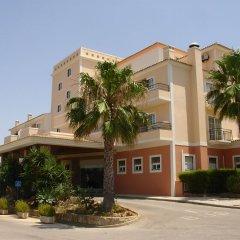Отель Vitor's Plaza вид на фасад