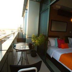 Отель Elite Beach Inn Мальдивы, Северный атолл Мале - отзывы, цены и фото номеров - забронировать отель Elite Beach Inn онлайн балкон