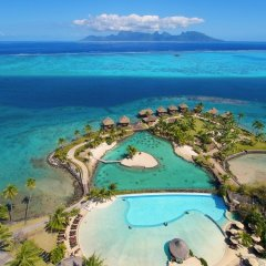 Отель InterContinental Resort Tahiti пляж фото 4