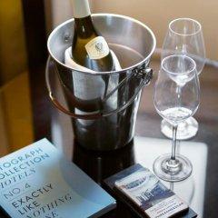 Отель Threadneedles, Autograph Collection by Marriott 5* Люкс повышенной комфортности с различными типами кроватей фото 3