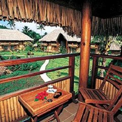 Отель Bora Bora Beach Resort балкон