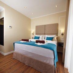 Гостиница Голубая Лагуна Улучшенный номер разные типы кроватей фото 2