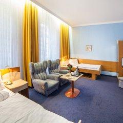 Отель Krivan Чехия, Карловы Вары - отзывы, цены и фото номеров - забронировать отель Krivan онлайн комната для гостей фото 4