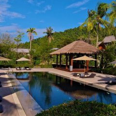 Отель Twin Lotus Resort and Spa - Adults Only бассейн фото 3