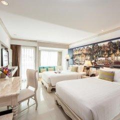 Отель Novotel Phuket Resort 4* Улучшенный номер с различными типами кроватей фото 3