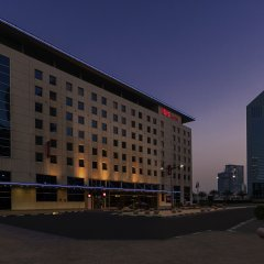 Отель ibis World Trade Centre Dubai вид на фасад