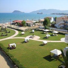 Отель Galaxy Hotel, BW Premier Collection Греция, Закинф - отзывы, цены и фото номеров - забронировать отель Galaxy Hotel, BW Premier Collection онлайн пляж фото 2