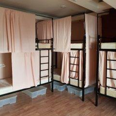 Moscow Hostel Travel Inn Кровать в женском общем номере с двухъярусной кроватью