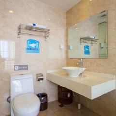 7 Days Inn Dongguan Women&Children Hospital Branch (отель для женщин и детей) ванная